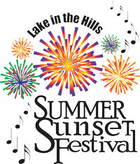 Summer Sunset Fest Mobile Logo