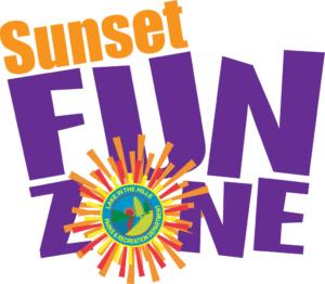 sunset funzone logo